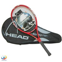 Wholesale High Quality Tennis Racket Hend Carbon Fiber Tennis Racket Racquets Equipped with Bag Tennis Grip Size raquetas de tenis