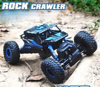 Wholesale WD RC electric truck G Rock CRAWLER CAR car Bigfoot truck Remote Control Car Off Road Vehicle Toy
