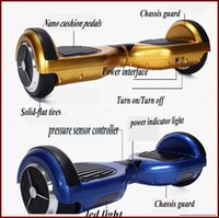 Wholesale Lithium Battery inch Air Wheel Scooter Two Wheel Scooter with LED Light