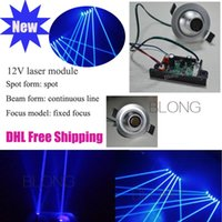 Wholesale 12V Bule mw Laser Module Stage Lighting Accessories Spot Laser Module Laser Thick Laser Column Longtime life Low comsuption