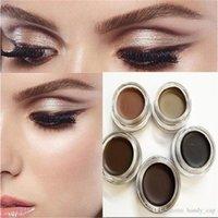 Wholesale Brow Cream Eyebrow Enhancers Definer Face Eyelash Eyebrow Enhancers Auburn Dark Brown Chocolate Eye Brow Cosmetics Makeup Tools