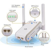 antenna pointing - Wireless N WiFi Range Extender Wireless Access Point Support AP Reapter Router Client and Bridge Modes dbi Antennas Signal Boosters DHL