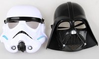Wholesale Star Wars cosplay Black Knight white soldiers mask Two black and white mask