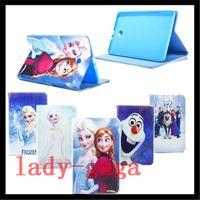 air bag movie - Cartoon Movie Elsa Anna Princess Flip Folio Leather Case For Samsung Galaxy tab A S E T280 T560 T550 T350 T700 T800