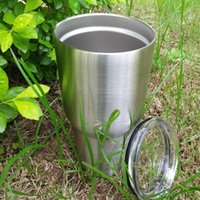 Wholesale Yowies Tumbler Stainless Steel Double Wall Vacuum Insulated Tumbler with Lid oz camping cup mug Via FedEx