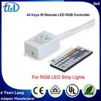 Wholesale DC12V Keys Wireless IR Infrared Remote LED Controller For V RGB Led Strip Lights