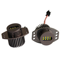 angels eyes rohs - 3sets mini Al Body E90 E91 W W LED Angel eyes Ring V Bulb for BMW with CE RoHs certificate