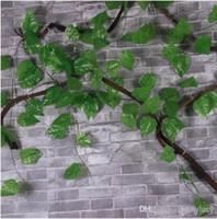 apple cane - Idyllic Decorative Artificial Climbing Vine Fake Ivy Cane CM Meter Long Apple Leaf For Home Wall Restaurant Garden Railing Decoration