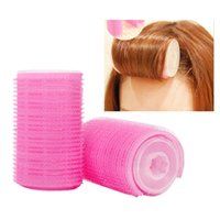 Wholesale DIY Magic Hair Curlers Rollers Plastic Hair Styling Tools Roller Curler Grip Cling Head Dressing Salon Makeup Tools Care