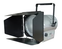 Wholesale studio LED fresnel spot light W LED multi source fanless with dmx512 control barndoor ct K k optional