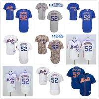 pinstripe baseball jerseys - New York Mets Yoenis Cespedes White Pinstripe Pull Down Blue Gray Camo NY MLB Baseball Jerseys Cheap From China Top Quality
