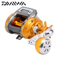 Wholesale 100 DAIWA IT S ICV L Electric Counting Reel Right Left Hand Baitcasting Fishing Reel Digital Counter Sea Fishing Reel