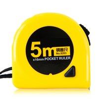 Wholesale Industrial Stainless Steel Tape MX16mm Home Garden Tape Measure Pocket Ruler