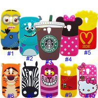 apple kitty - 3D Cute Cartoon French Fries starbucks Jump Tigger Hello kitty stitch Mickey Minnie monsters Soft Silicone Case for Iphone S S Plus