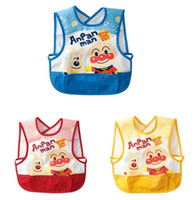 Wholesale Waterproof baby feeding smock infant apron waterproof feeding Bibs baby feeding clothes