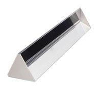 Wholesale CNIM Hot quot inch Optical Glass Triple Triangular Prism Physics Teaching Light Spectrum
