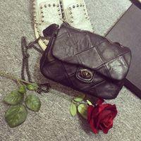 Wholesale New luxury stitching chains women genuine leather designer handbags high quality Crossbody Bag Shoulder Messenger Bags