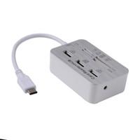 aluminum window types - USB3 Type C to Port Aluminum USB Adapter MS SD M2 TF Multi In Card Reader Combo Hub For Macbook Windows XP