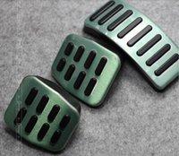 Wholesale 5 set Stainless Car pedal for MT VW Polo Bora Lavida Skoda Golf MK4 Fabia Clutch Accelerator Gas Brake pedals Pads