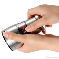 Wholesale New Stainless Steel Portable Manual Pepper Grinder Muller Mill Kitchen Accessories Cooking Seasoning Grinding Tool H16937