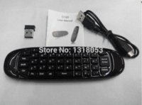 Wholesale Best quality Air Mouse C120 with Ghz double layers air mouse for anroid tv box for smart tv by DHL