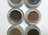 Wholesale Discount Price Ana Blonde Auburn Chocolate Dark Brown Ebony colors Eyebrow Enhancers Waterproof hot item by dhl
