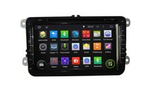 automotive gps tracker oem - 8 Inch Din Quad Core GPS Map Provide HD Screen Car DVD Player for VW Passat OEM Android