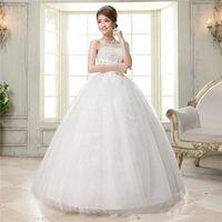 Wholesale Plus Size Wedding Dress Korean Style Strapless Dress With Wedding Dresses Korean Style Princess Bitter Fleabane Bitter Fleabane Skirt