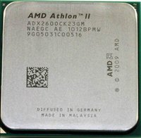Wholesale Original For AMD Athlon II X2 processor GHz MB L2 Cache Socket AM3 Dual Core scattered pieces cpu working