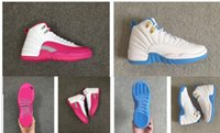 Wholesale 9 GS Dynamic Pink Retro Basketball Shoes kid Womens Girls White Pink
