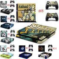 ba cover - Mix Order BA F Design New Vinyl Skins Sticker for Sony PS4 PlayStation and Controllers Skins Cover