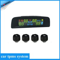 automotive technology systems - 2016 Latest style Solar TPMS newest technology Car Tire Diagnostic tool with mini external sensor Auto Wireless Universal TPMS