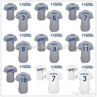 barney shorts - Men s Los Angeles Dodgers Alex Guerrero carl crawford Chone Figgins barney Don Mattingly Jimmy Rollins Yasmani Grandal