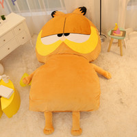 big play mat - 2016 New Huge Garfield plush toy Giant Cute Garfield Sleeping Bag Sofa Bed Carpet Tatami Kids Play Mat Great Gift