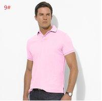 Wholesale Hot Bold men s shirt POLO shirt Naichuan short sleeved T shirt color M XXL