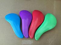 Wholesale Hot Sale Magic Detangling Handle Hair Brush Comb Salon Styling Tool Tangle Shower Hair Comb TT Hair Brush