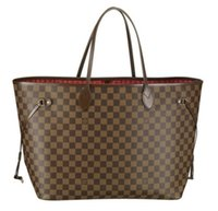 bag louis - Fashion Women s Louis brand NEVERFULL handbag MICHAEL KOR leather cheap shoulder bags Lady s tote bag shopping bags N51106 M40249 M40157