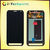 active digitizer - New Original For Samsung Galaxy S6 Active LCD Display and Digitizer Touch Screen Panels With Adhesive G890 G890A Black White