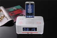android radio stations - Bluetooth Speaker with NFC System Alarm Clock FM Digital Radio and Charging Station for Android