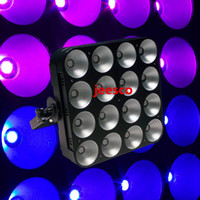 Wholesale 16pcs w RGB in1 Full Color Led Dot Matrix Led Matrix Light CH