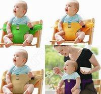 baby toys chair - TAF Toys Infant Seat Belt Dining Lunch Chair Seat Safety Belt Stretch Wrap Feeding Chair Harness Baby Booster Seat QQA285