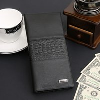 beautiful note cards - 2016 new leisure fashion beautiful black and brown men s wallet long section