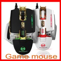 Wholesale High Quality DPI buttons Computer Mouse Optical USB Wired Gaming Mouse Professional Game Mice for Laptops Desktops