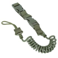 Wholesale Multifunction Adjustable Tactical Two point Bungee Rifle Gun Airsoft Sling Hunting Gun Strap Army Green