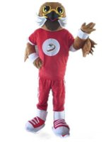 adult easy halloween costumes - mascots halloween costumes Light and easy to wear a sports eagle bird mascot costume for adult to wear