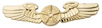 airforce badges - US AIRFORCE PILOTS METAL BADGE PIN WING INSIGNIA GOLDEN