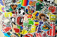 Wholesale 100 Mixed Design Car Decal Sticker Motorcycle bike stickers for Skateboard Laptop Luggage Snowboard Car Fridge Phone Home decor