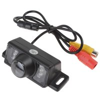 Wholesale 10pcs IR Lights Waterproof TV lines Car Rear View Camera TV lineswith Degree Viewing Angle