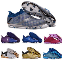 Wholesale ACE PureControl FG Slip On Men s Soccer Shoes Boots Men Cheap Original Performance Ace Cleats Football Sneakers