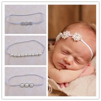 baby bling jewelry - 2016 New Headband Newborn Baby Jewelry Crystal Headbands for Girls Bling Head Bands Pearl Rhinestone Kid Hairband Photography Props Styles
